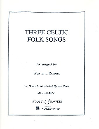3 Celtic Folk Songs: for children\