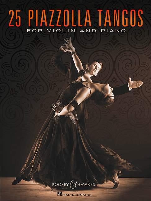 25 Tangos: for violin and piano