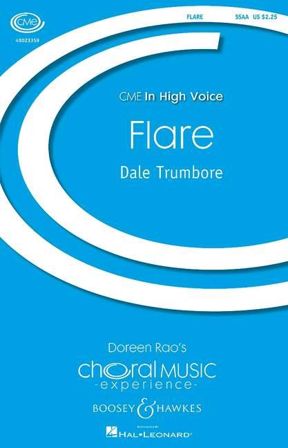 BHI48302 Flare: for mixed chorus a cappella