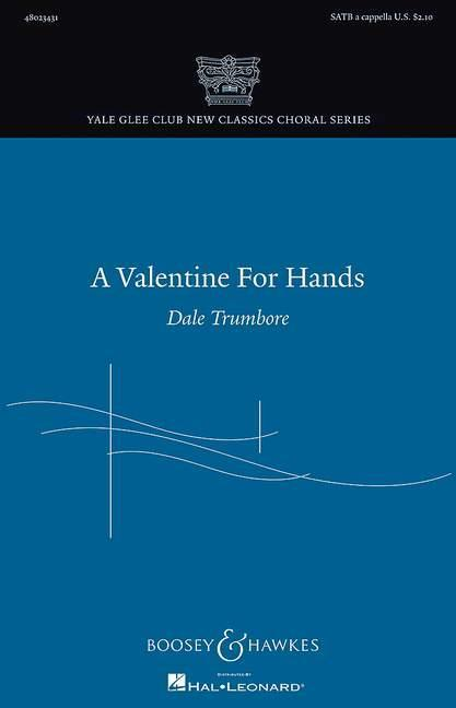 BHI48310 A Valentine for Hands: for mixed chorus a a cappella