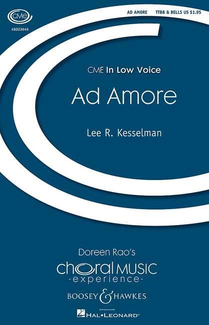 BHI48353 Ad amore: für Männerchor und Glocken