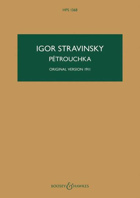 Pétrouchka: für Orchester Studienpartitur (Originalversion 1911)