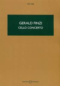 Konzert opus.40: für Violoncello und Orchester Studienpartitur