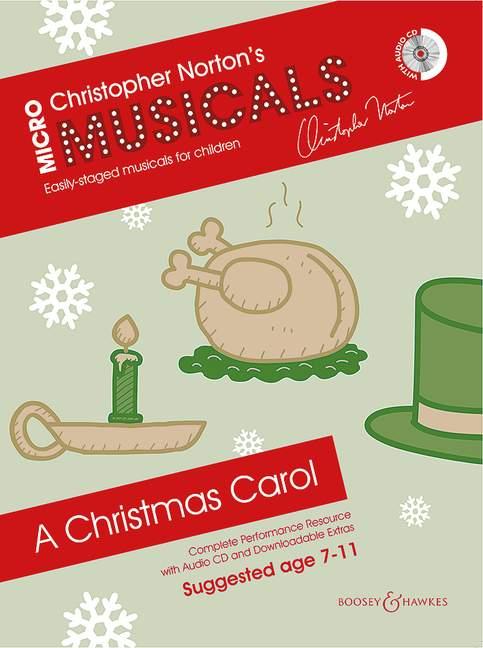 A Christmas Carol Soli, Chor und Instrumente (Klavier)