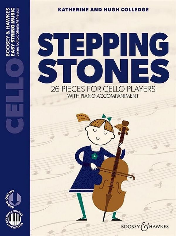 Stepping Stones (+Online Audio): for cello and piano