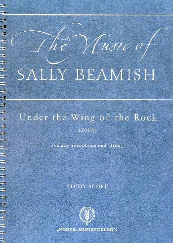 Under the Wing of the Rock: for alto saxophone and strings
