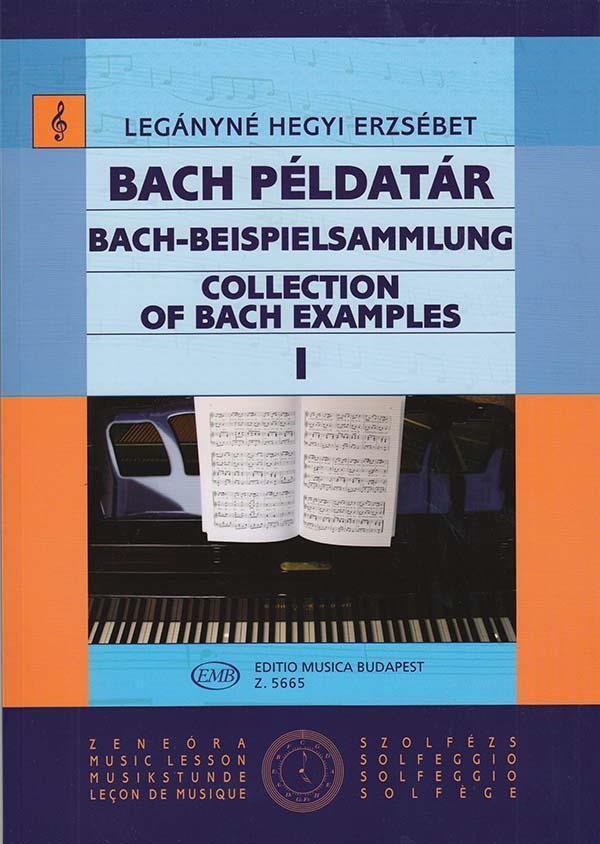 Bach-Beispielsammlung Band 1: für Gesang (solfeggio) (dt/en/ung)