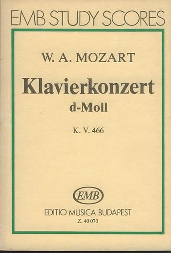 Concerto in d Minor KV466: for piano and orchestra