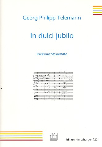 Telemann, Georg Philipp - In dulci jubilo :
