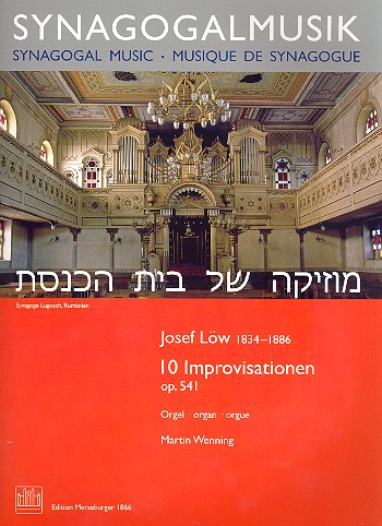 10 Improvisationen opus.541: für Orgel