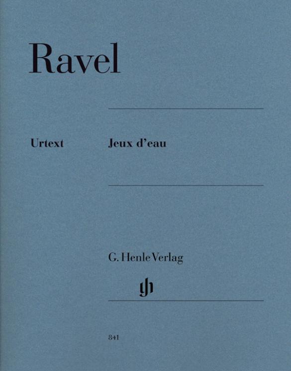 Ravel, Maurice - Jeux d'eau : für Klavier