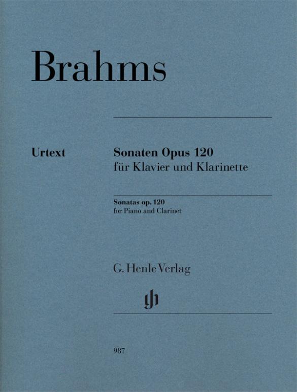 Brahms, Johannes - Sonaten op.120 :