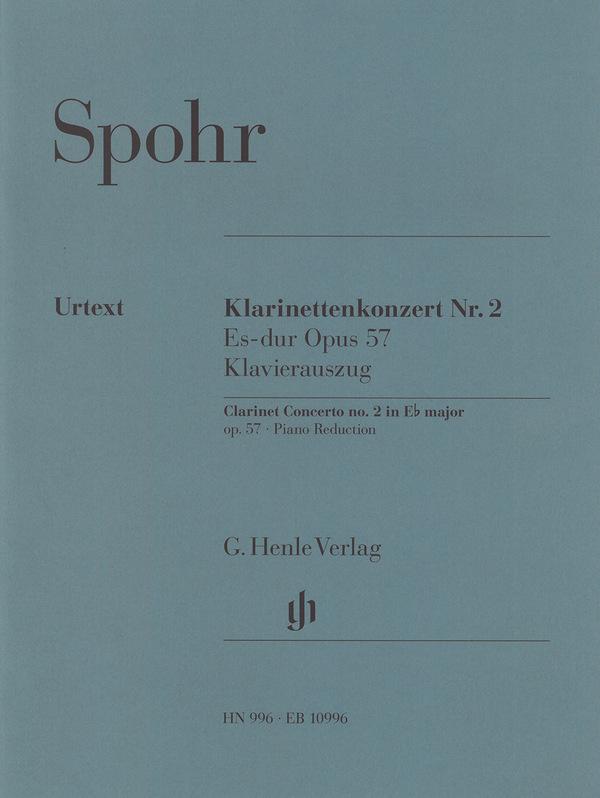 Spohr, Louis - Konzert Es-Dur Nr.2 op.57 für Klarinette und Orchester :