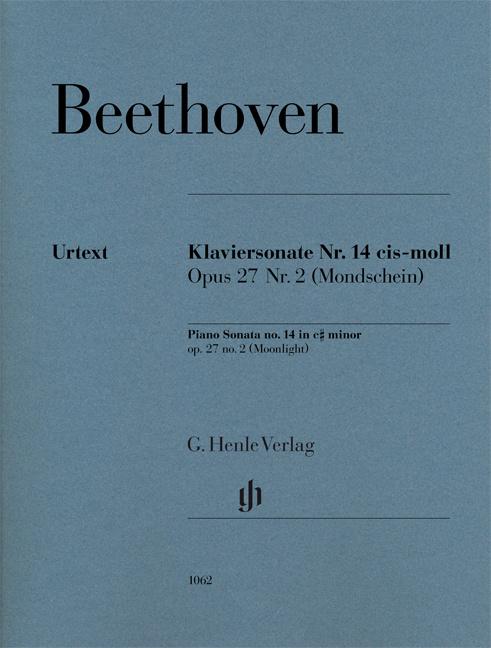 Beethoven, Ludwig van - Sonate cis-Moll Nr.14 op.27,2 :
