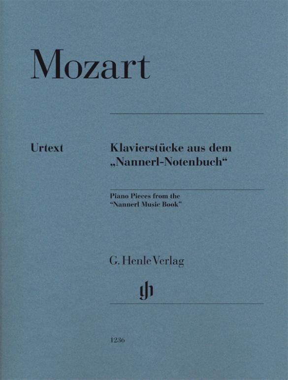 Mozart, Wolfgang Amadeus - Klavierstücke aus dem Nannerl-Notenbuch