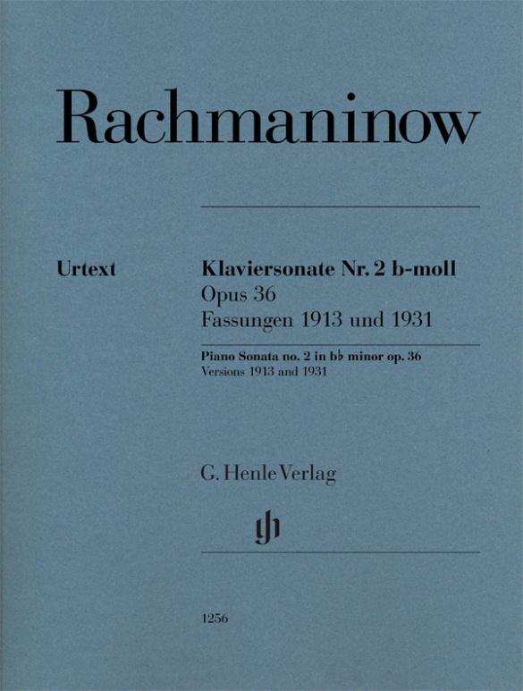 Sonate b-Moll Nr.2 op.36 (Fassungen 1913 und 1931) : - Vollanzeige.