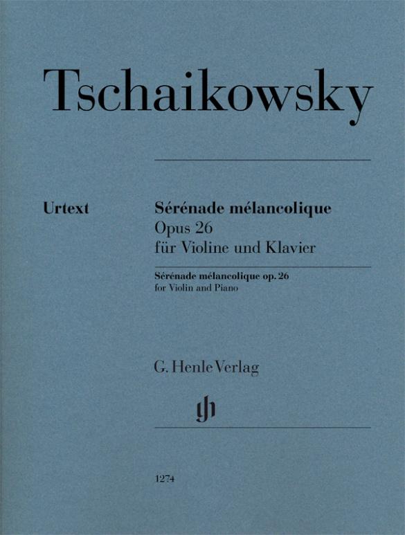 Tschaikowsky, Peter Iljitsch - Sérénade mélancholique op.26 :