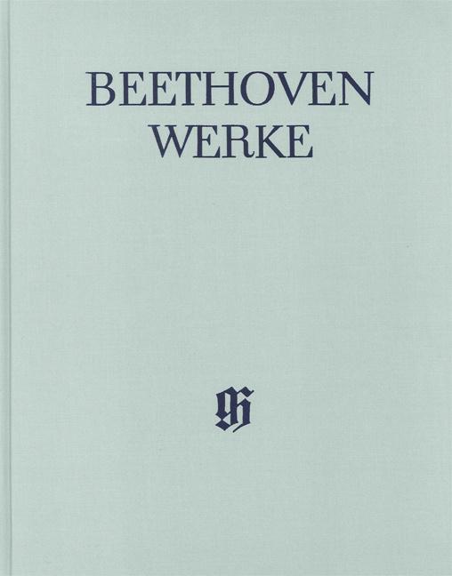 Beethoven Werke Abteilung 1 Band 3: Sinfonien 5 und 6 (gebunden)