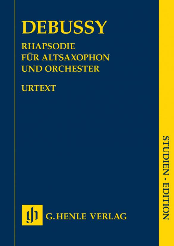 Debussy, Claude - Rhapsodie : für Altsaxophon und Orchester