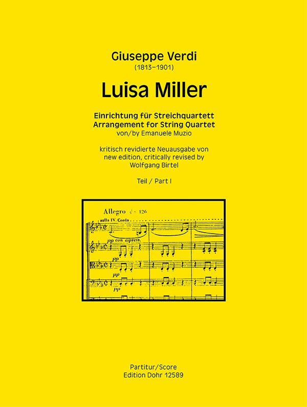 Verdi, Giuseppe - Luisa Miller Band 1 :