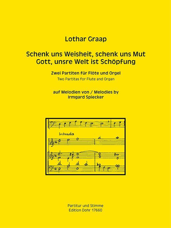 2 Partiten: für Flöte und Orgel