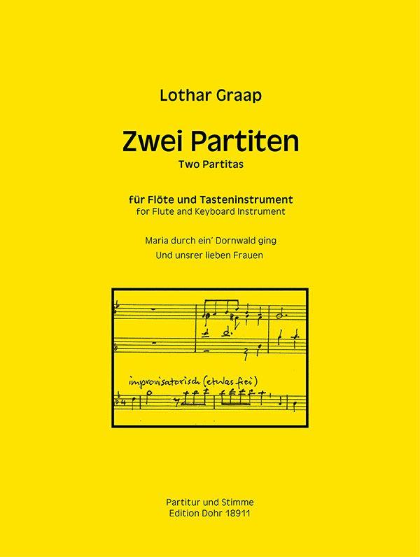 2 Partiten: für Flöte und Tasteninstrument