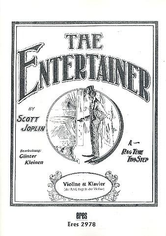 The Entertainer: für Violine und Klavier
