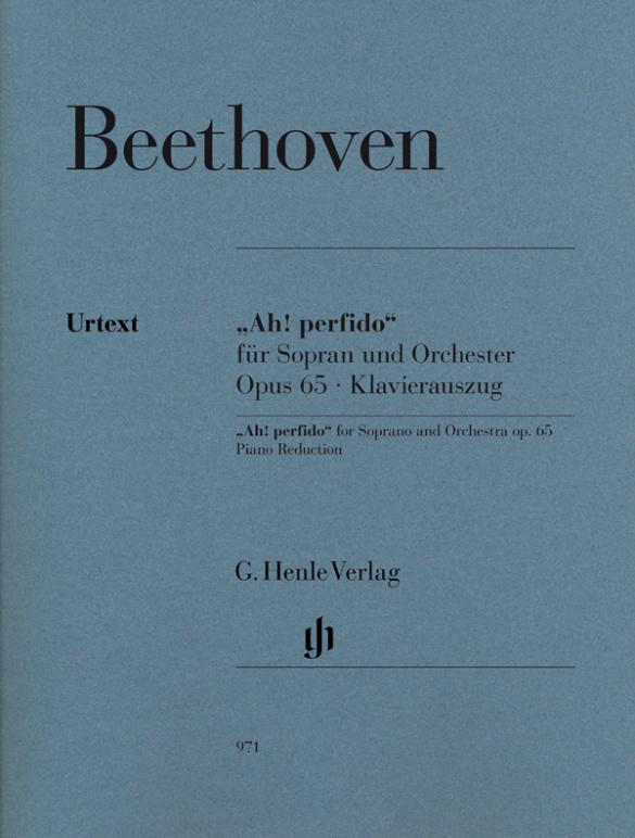Beethoven, Ludwig van - Ah perfido op.65 : für Sopran und Orchester