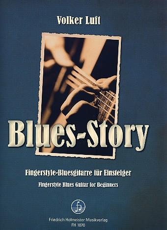 Luft, Volker - Blues-Story - Fingerstyle-Bluesgitarre