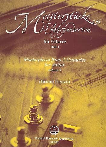 - Meisterstücke aus 5 Jahrhunderten