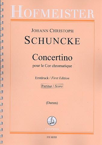 Concertino pour le cor cromatique: für Horn und Orchester
