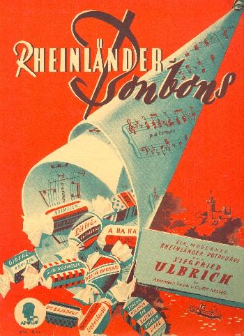 Rheinländer Bonbons (Medley): für Akkordeon (mit Texten)