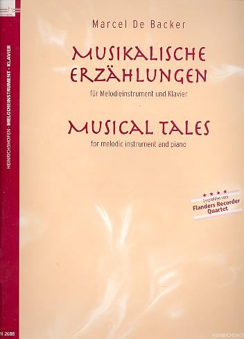 De Backer, Marcel - Musikalische Erzählungen :