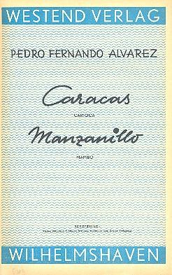 Caracas und Manzanillo: für Combo Stimmen