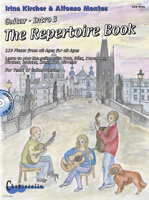 Montes, Alfonso - Gitarrenintro Band 3 - The Repertoire Book vol.1 (+CD) :
