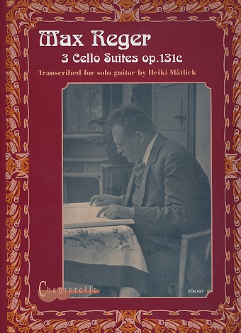 3 Cello Suites opus.131c: for guitar