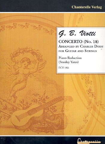 Concerto no.18 for Guitar and Strings: for guitar and piano