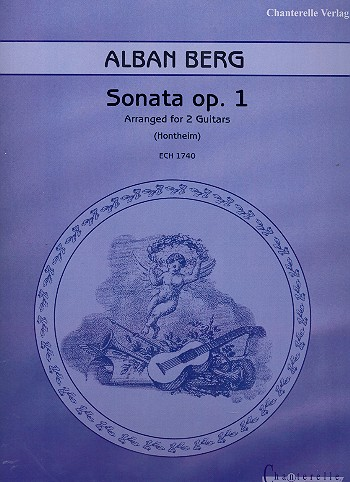 Sonata opus.1: for 2 guitars score