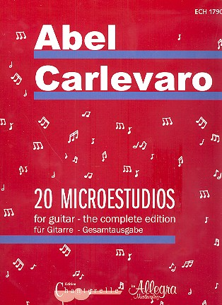 20 Microestudios: for guitar