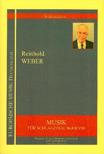 Musik WebWV98: für Schlazeug Partitur und Stimmen