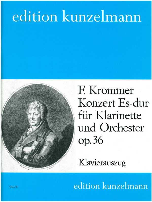 Krommer, Franz Vinzenz - Konzert Es-Dur op.36 für Klarinette