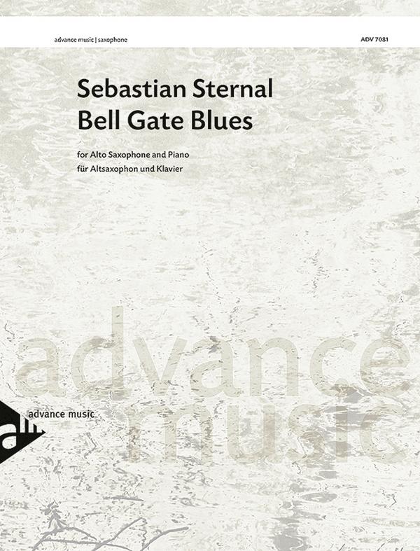 ADV7081 Bell Gate Blues: für Altsaxophon und Klavier