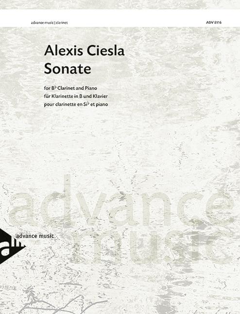 ADV8116 Sonate: für Klarinette und Klavier