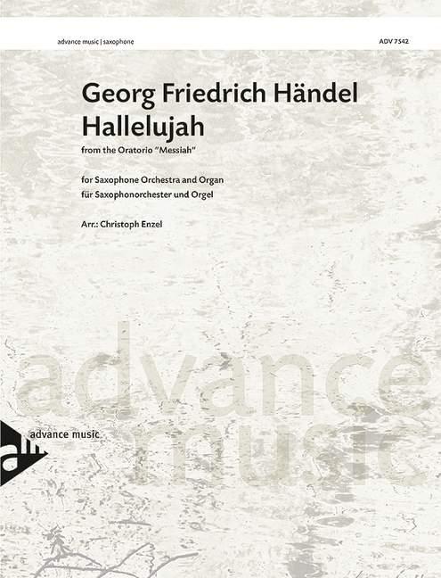 Hallelujah: für Saxophon-Ensemble und Orgel