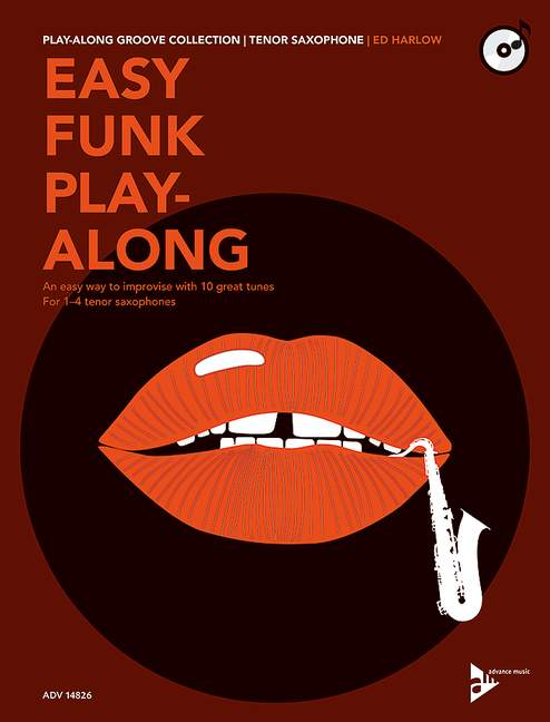 Easy Funk Playalong (+CD): für 1-4 Tenorsaxophone