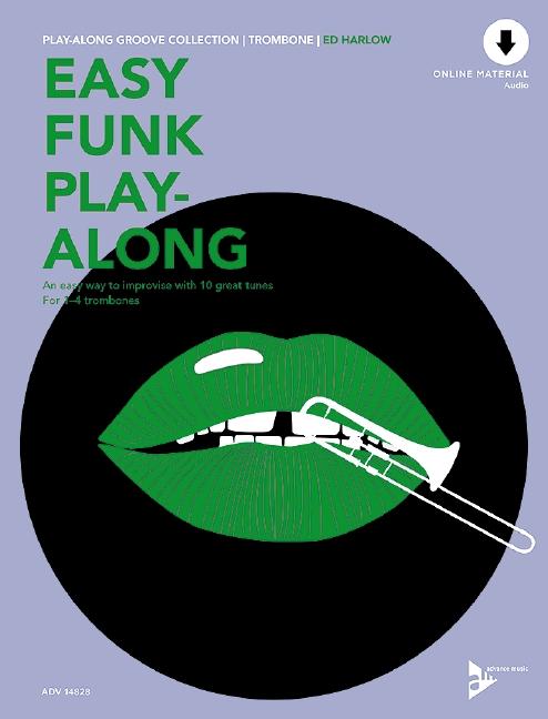 Easy Funk Playalong (+CD): für 1-4 Posaunen