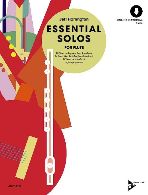 Essential Solos (+CD): für Flöte
