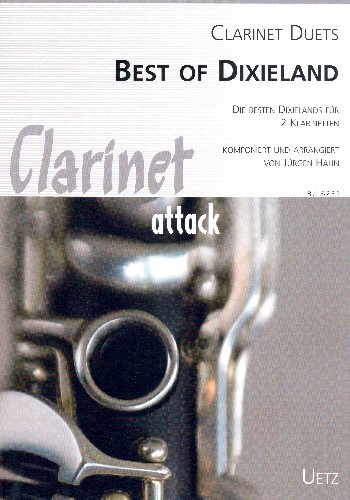 Best of Dixieland: für 2 Klarinetten