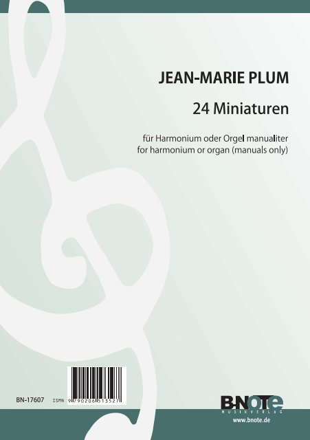 24 Miniaturen: für Orgel (manualiter) (Harmonium)