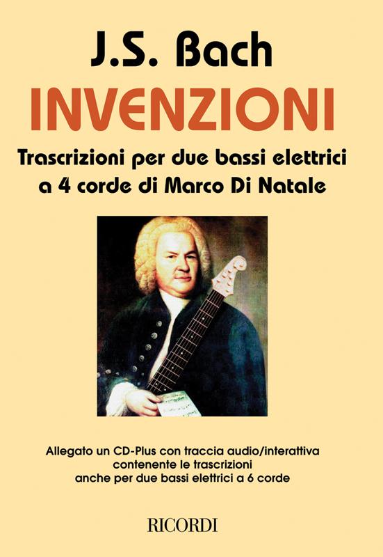 Invenzioni (+CD): transcrizioni per 2 bassi elletrici, partitura